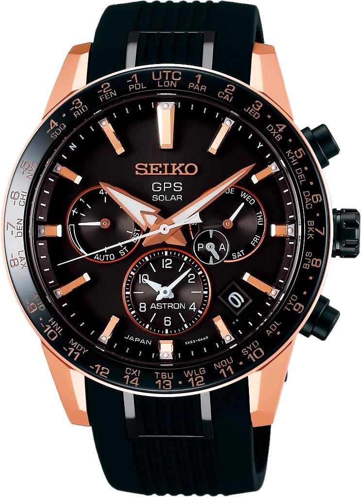Японские мужские часы в коллекции Astron Мужские часы Seiko SSH006J1 фото