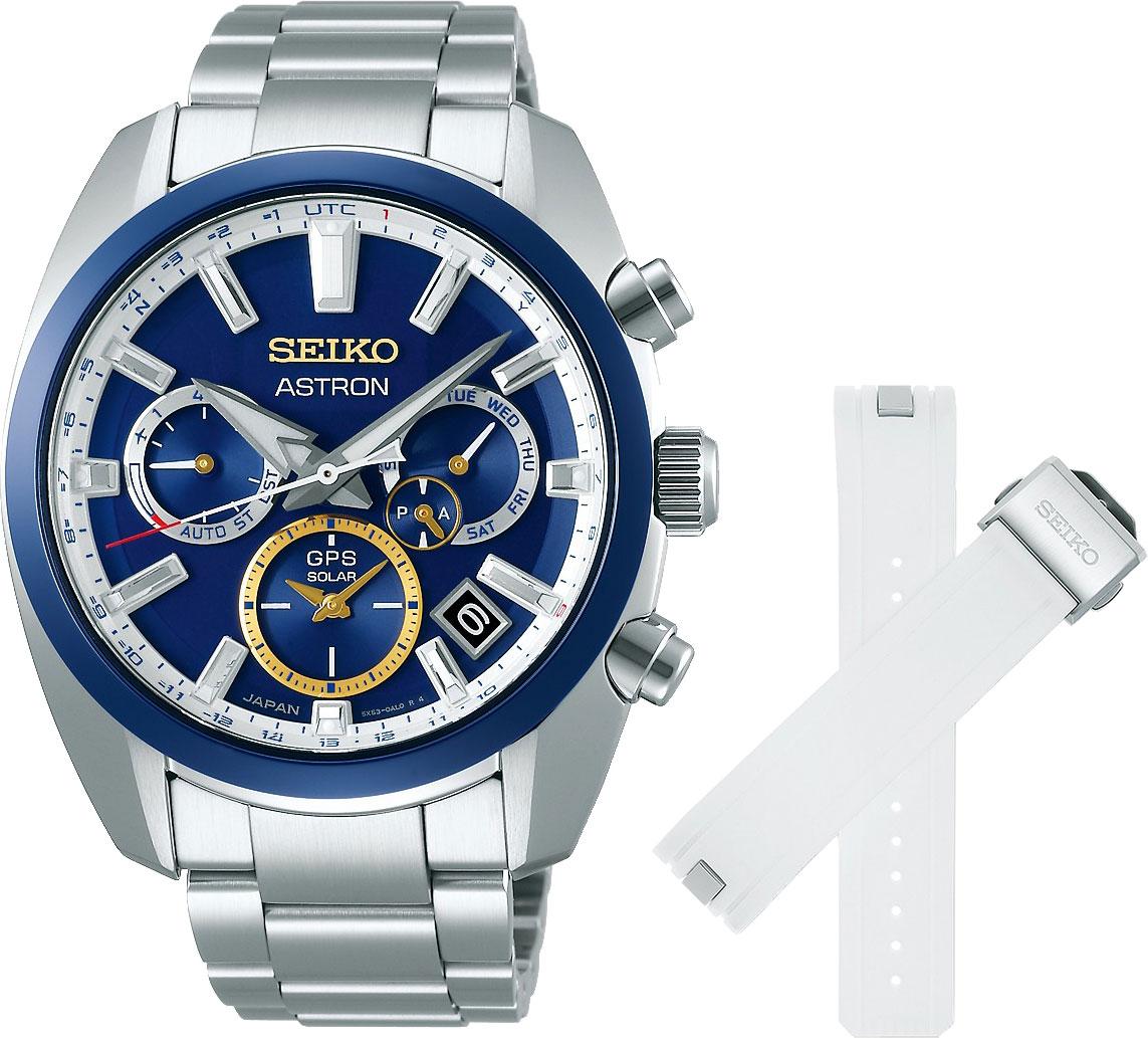 Японские мужские часы в коллекции Astron Мужские часы Seiko SSH045J1 фото