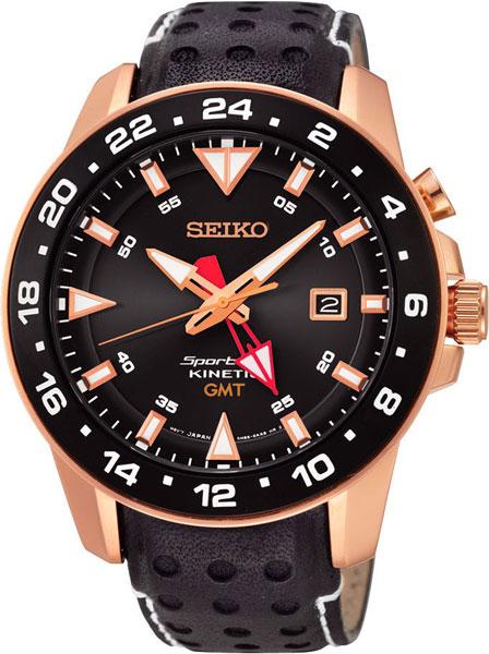 Мужские часы Seiko SUN028P1 браслет красцветмет золотой браслет ndнб 12 028 d 0 60 17