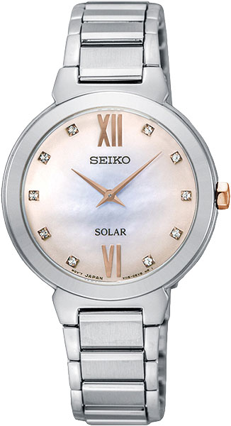 лучшая цена Женские часы Seiko SUP381P1