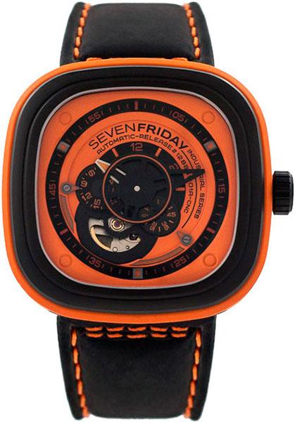 Мужские часы SEVENFRIDAY P1/3-orange