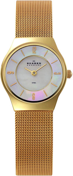 где купить Женские часы Skagen 233XSGG по лучшей цене