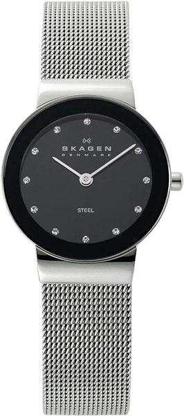цена Женские часы Skagen 358SSSBD онлайн в 2017 году