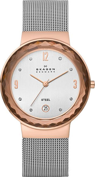 где купить Женские часы Skagen 456LRS по лучшей цене