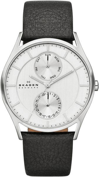 Мужские часы Skagen SKW6065 u7 2016 новая мода силиконовая и нержавеющая сталь браслет мужчины изделий 18k позолоченный браслеты