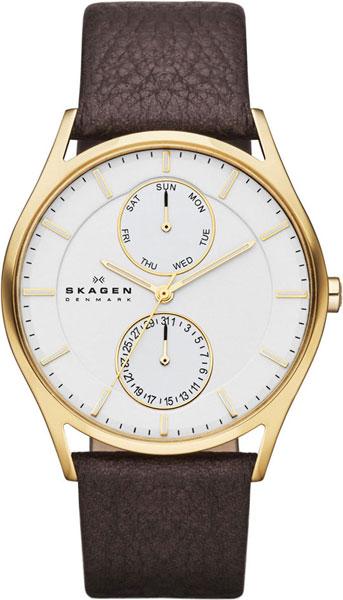 Мужские часы Skagen SKW6066 u7 2016 новая мода силиконовая и нержавеющая сталь браслет мужчины изделий 18k позолоченный браслеты