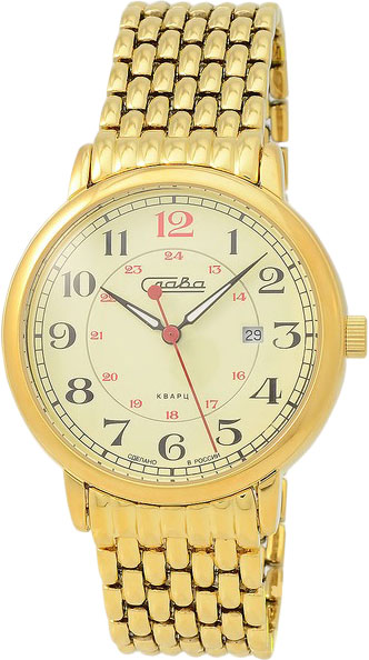 Мужские часы Слава 1419709/2115-100 комбинация приборов на ваз 2115 в москве купить