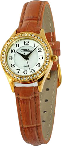лучшая цена Женские часы Слава 6243491/2035