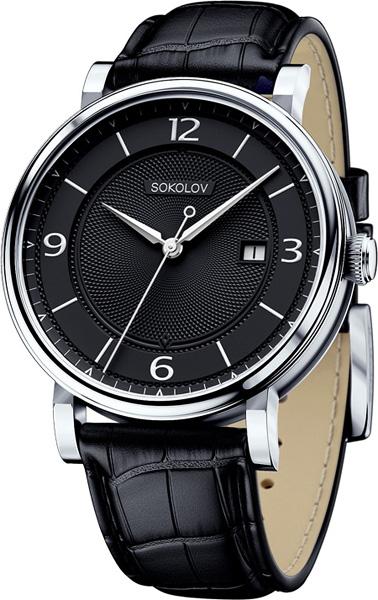 Фото «Российские серебряные наручные часы SOKOLOV 101.30.00.000.04.01.3»