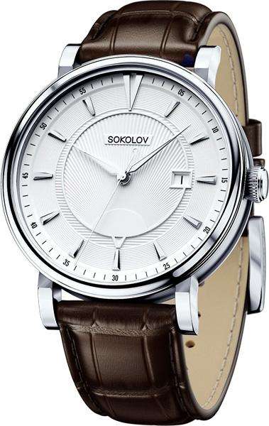 Фото «Российские серебряные наручные часы SOKOLOV 101.30.00.000.06.02.3»