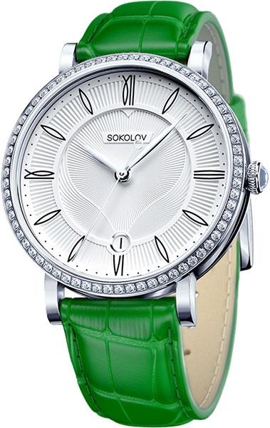 Женские часы sokolov 102.30.00.001.01.06.2