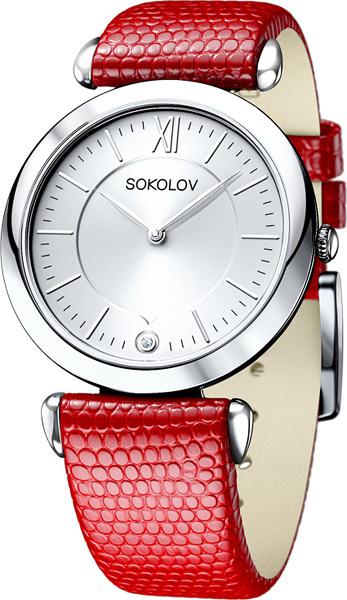 Женские часы SOKOLOV 105.30.00.000.01.03.2 цена и фото