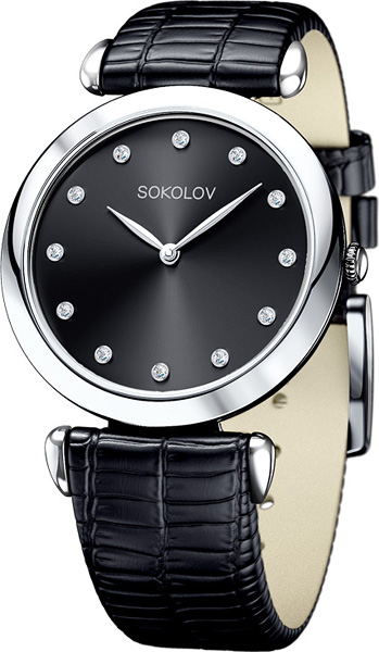 Женские часы SOKOLOV 105.30.00.000.07.01.2 цена и фото