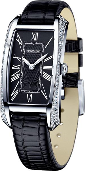 Фото «Российские серебряные наручные часы SOKOLOV 119.30.00.001.02.01.2»
