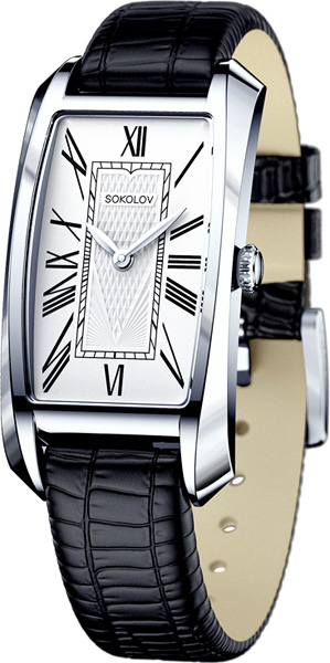 Фото «Российские серебряные наручные часы SOKOLOV 120.30.00.000.01.01.2»
