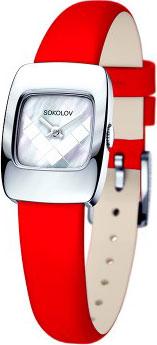 Женские часы SOKOLOV 124.30.00.000.05.03.2