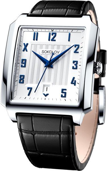 цена Мужские часы SOKOLOV 134.30.00.000.04.01.3 онлайн в 2017 году