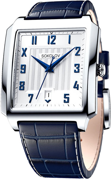 Мужские часы SOKOLOV 134.30.00.000.04.02.3 цена и фото