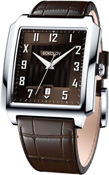 Мужские часы SOKOLOV 134.30.00.000.06.03.3