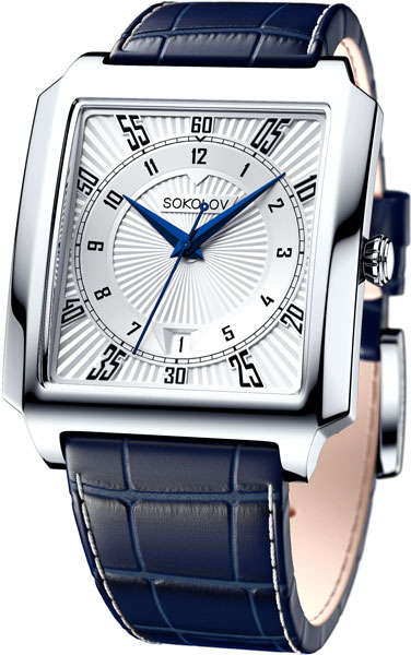 Мужские часы SOKOLOV 134.30.00.000.08.02.3