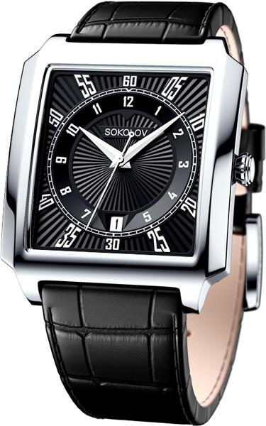 цена Мужские часы SOKOLOV 134.30.00.000.09.01.3 онлайн в 2017 году