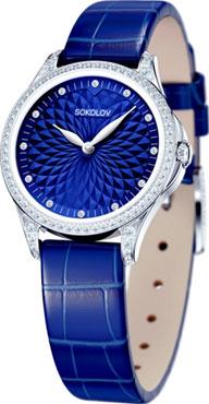 Фото «Российские серебряные наручные часы SOKOLOV 137.30.00.001.04.04.2»