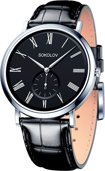 Мужские часы SOKOLOV 151.30.00.000.02.01.3