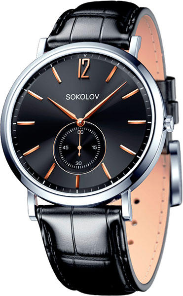 Мужские часы SOKOLOV 151.30.00.000.05.01.3