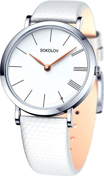цена Женские часы SOKOLOV 152.30.00.000.01.02.2 онлайн в 2017 году