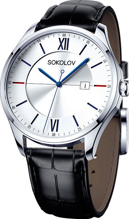 Мужские часы SOKOLOV 154.30.00.000.01.01.3
