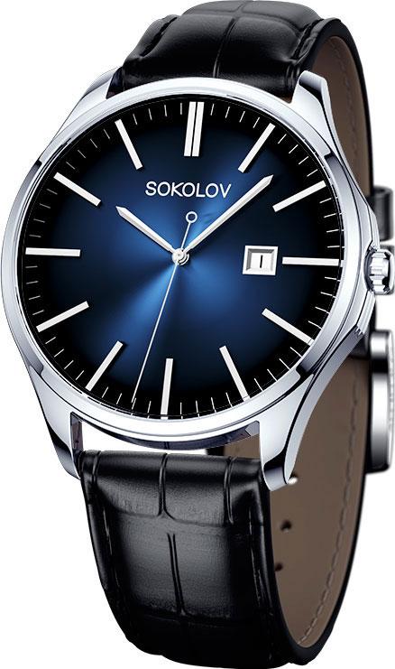 Мужские часы SOKOLOV 154.30.00.000.04.01.3