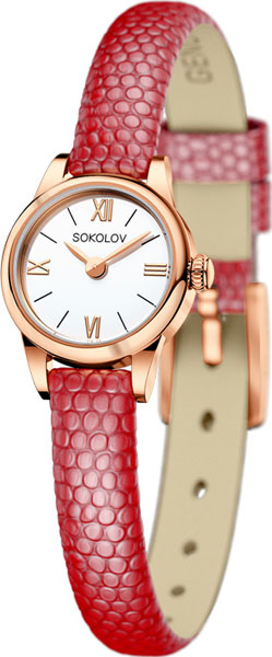 Женские часы SOKOLOV 211.01.00.000.01.04.3