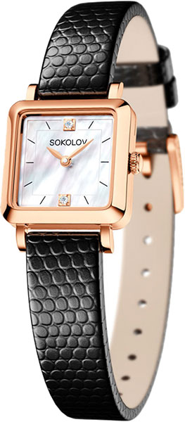цена Женские часы SOKOLOV 231.01.00.000.05.01.2