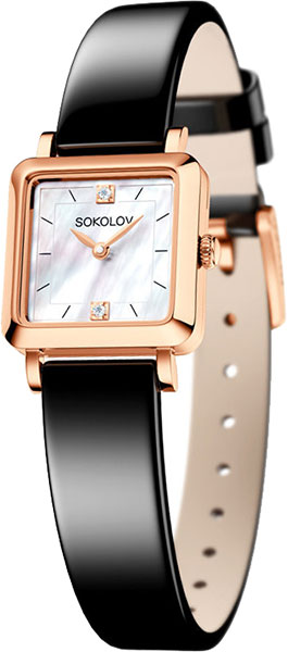 лучшая цена Женские часы SOKOLOV 231.01.00.000.05.04.2