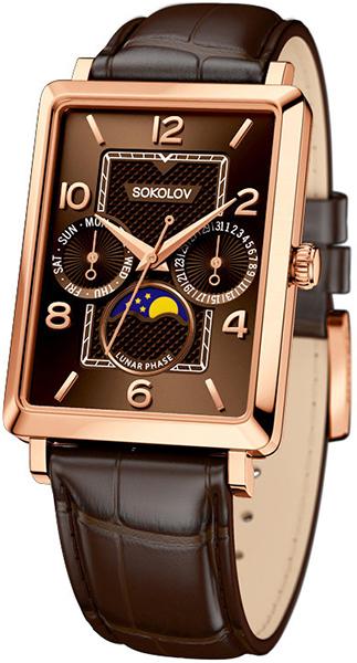 Мужские часы SOKOLOV 233.01.00.000.07.02.3