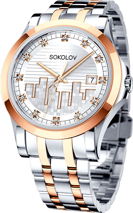 Женские часы SOKOLOV 303.76.00.000.05.02.2