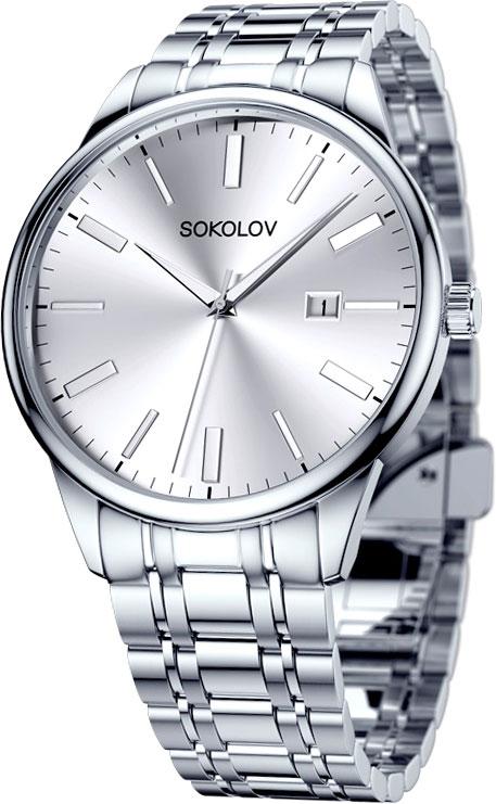 Мужские часы SOKOLOV 313.71.00.000.01.01.3