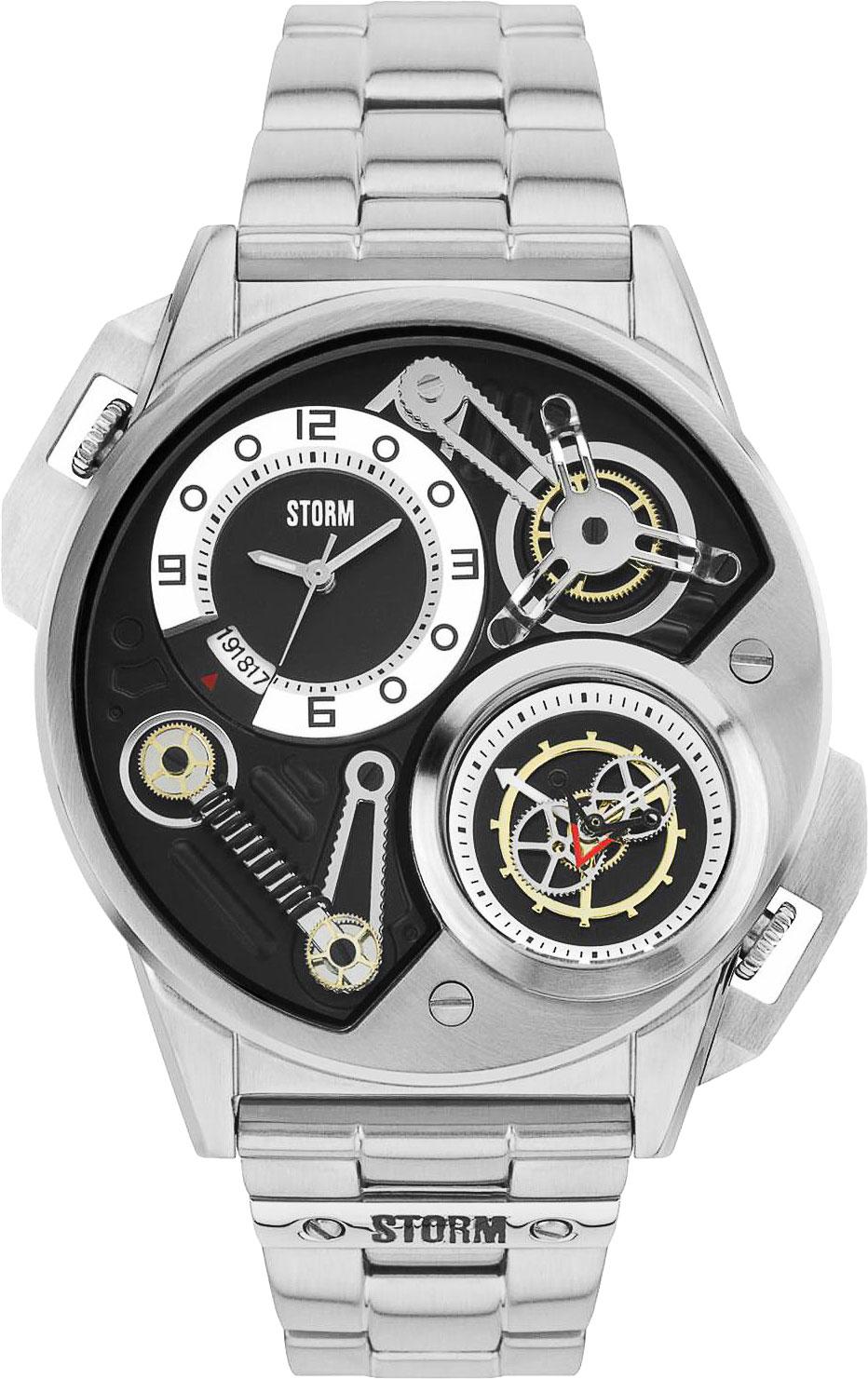 Мужские часы Storm ST-47229/BK puma бейсболка puma