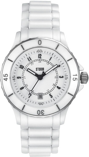 Женские часы Storm ST-4534/W часы nixon genesis leather white saddle
