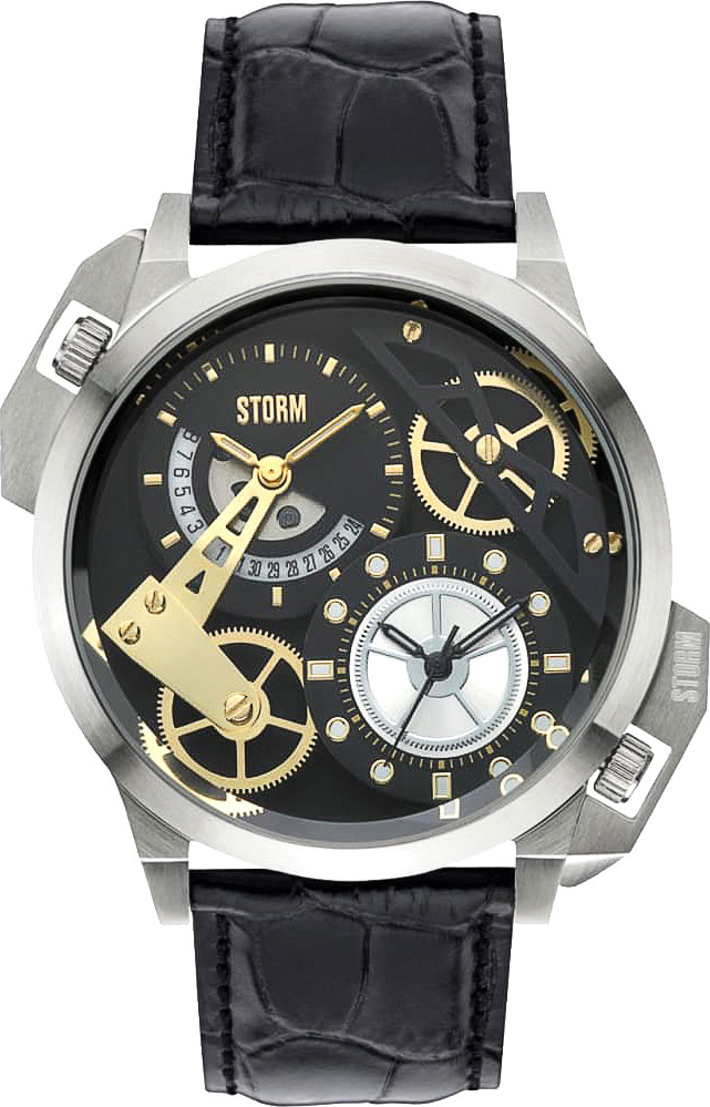 Мужские часы Storm ST-47147/BK/BK мужские часы storm st 47237 bk