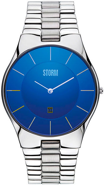 Мужские часы Storm ST-47159/B 42mm parnis withe dial sapphire glass miyota 9100 automatic mens watch 666b