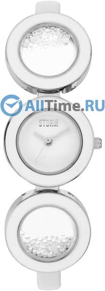 Женские часы Storm ST-47192/W браслет из янтаря россыпи