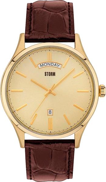 Мужские часы Storm ST-47282/GD браслет браслеты браслеты браслеты турецкие симметричные ювелирные изделия цветочного искусства