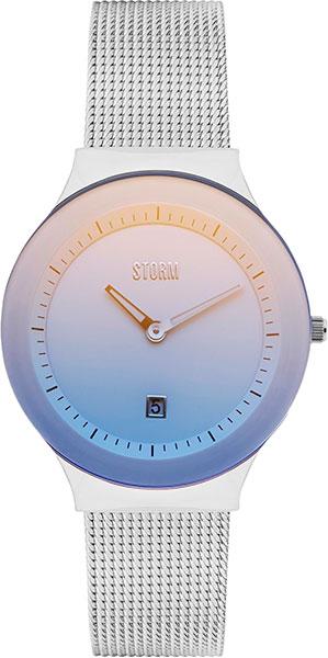 Женские часы Storm ST-47383/IB серьги из серебра 47383