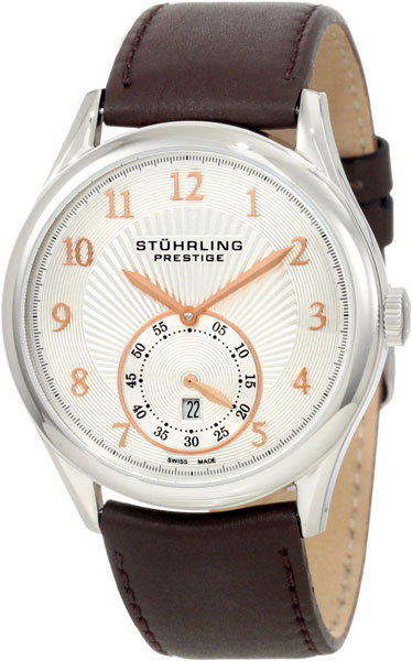 Мужские часы Stuhrling 171B3.331K2-ucenka stuhrling 557 02
