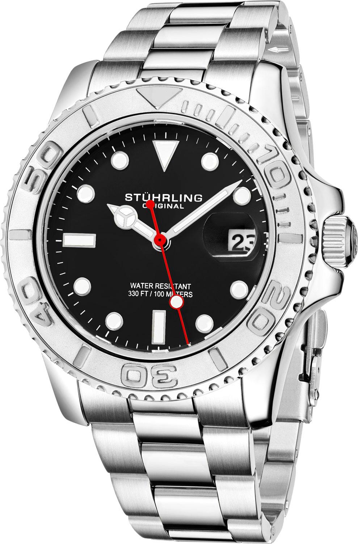 цена Мужские часы Stuhrling 3967.3 онлайн в 2017 году