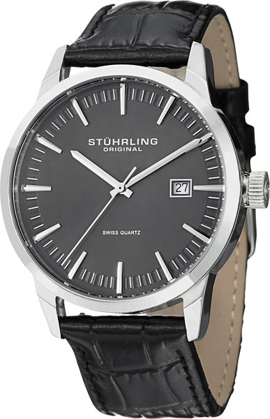 цена Мужские часы Stuhrling 555A.02.SET онлайн в 2017 году