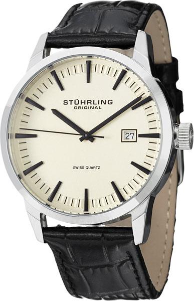 цена Мужские часы Stuhrling 555A.03.SET онлайн в 2017 году