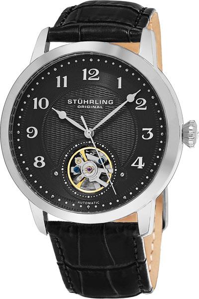 Мужские часы Stuhrling 781.02 головоломка мишка 90114