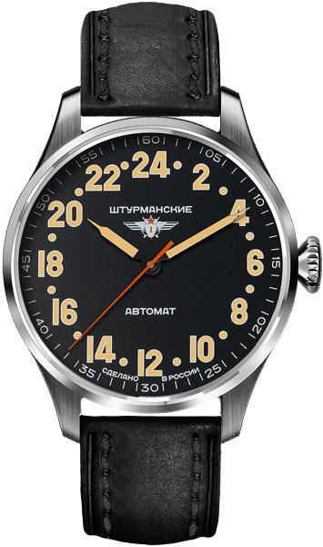 Мужские российские механические наручные часы Штурманские 2431-6821341
